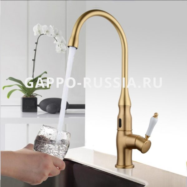 vòi rửa chén cảm biến nóng lạnh gappo g521
